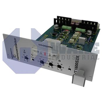 VT1600-S-30 | Rexroth, Bosch, Indramat VT1600 Servo Amplifier Card Series | Image