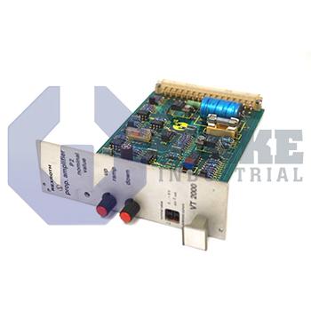 VT 2000 K 42 | Rexroth, Bosch, Indramat VT-2000 proportional amplifier Series | Image