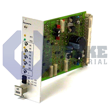 VT 3000   Rexroth, Bosch, Indramat VT-3000 Proportional Valve Amplifier Series   Image