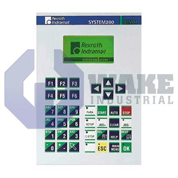 BTV04.1GN-FW | Bosch Rexroth Indramat BTV04 Miniature Control Panel Series | Image