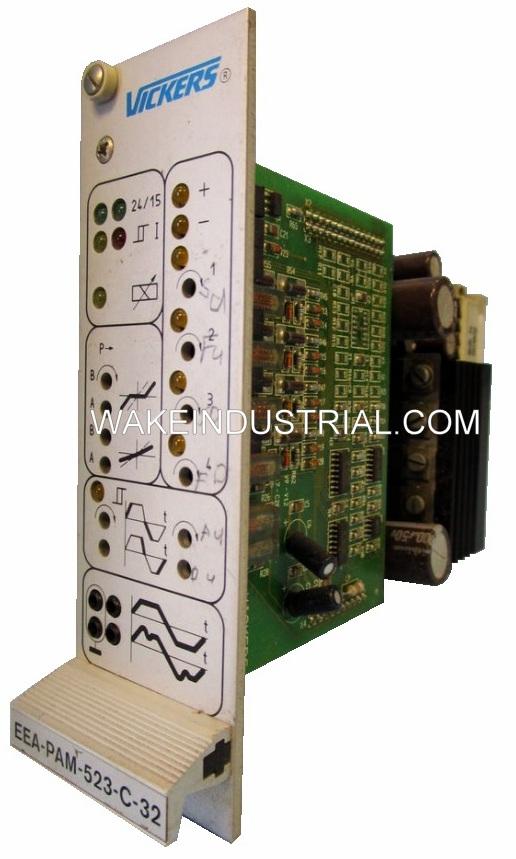 EEA-PAM-523-C-32   EEA-PAM-5**-C-32 Vickers Power Amplifier Card Series   Image